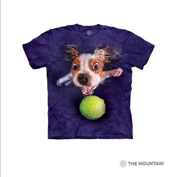 The Mountain Kids dog T-Shirt - Underwater Monty L